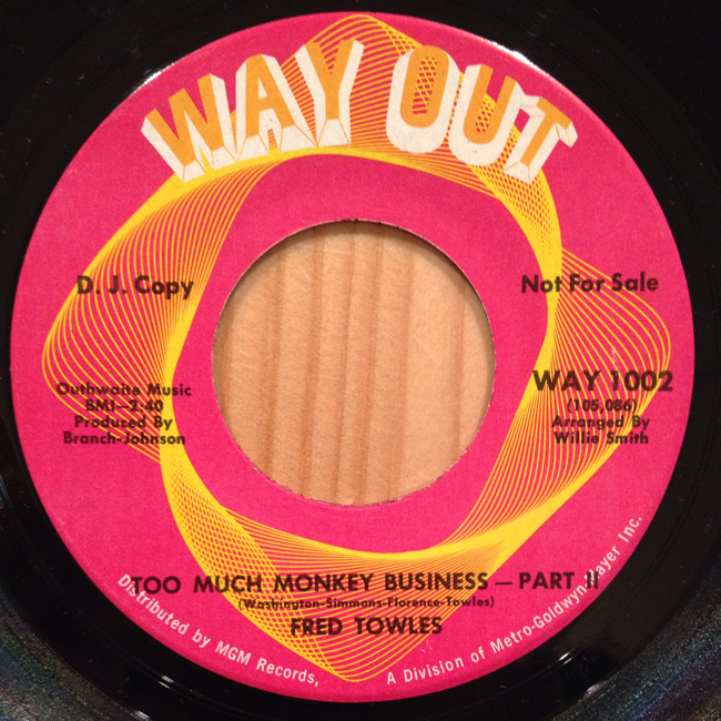 Fred Towles - Too Much Monkey Business